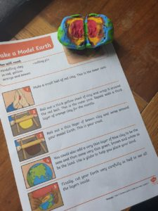 Model Earth creating - Geography task